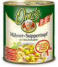 Omi's Hühner-Suppentopf
